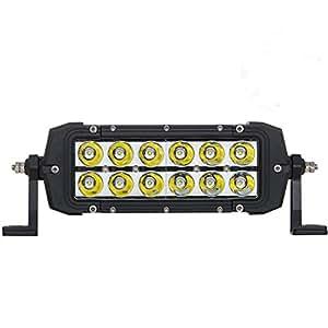 Amazon.com: Boli 2x 4inch 36W CREE LED LIGHT BAR WORK SPOT LAMP