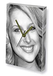 GEMMA BISSEX - Canvas Clock (LARGE A3 - Signed by the Artist) #js001