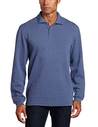 Van Heusen Men's Ottoman Polo Shirt, Coastal Fjord, XX-Large