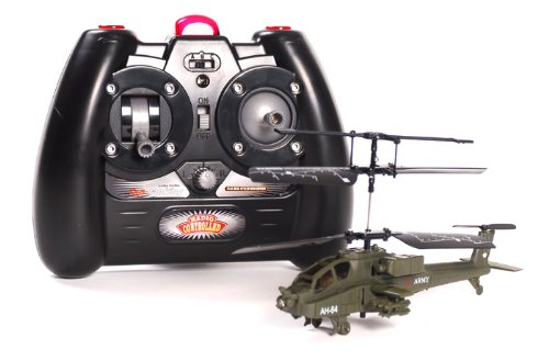 Army AH-64 Apache Mini RC Helicopter
