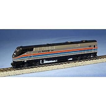 "Amazon.com: Kato USA Model Train Products GE P42 #66 ""Genesis"" Amtrak"
