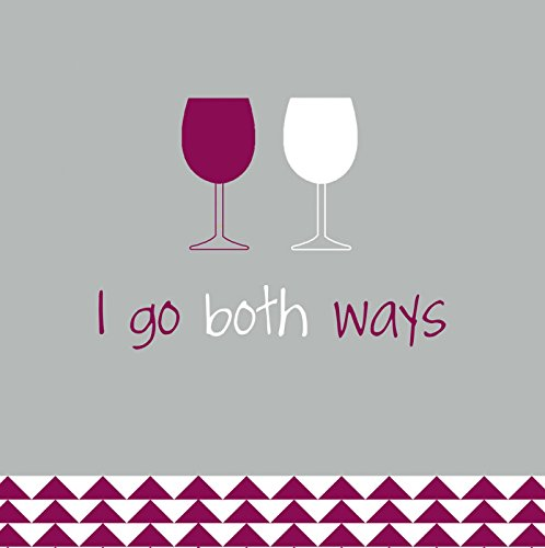 Evergreen Enterprises EG4NC1416 I Go Both Ways Cocktail Napkin