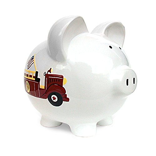 Child to Cherish Piggy Bank, Fire Truck - 1