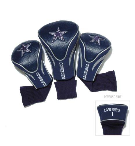 team-golf-32394-dallas-cowboys-3-pack-contour-fit-headcover