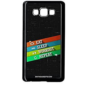 Skin4Gadgets Eat Sleep Workout Repeat Phone Designer BLACK PRO CASE for SAMSUNG GALAXY ON7
