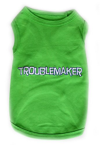 Dog T-Shirt -TROUBLEMAKER-Small