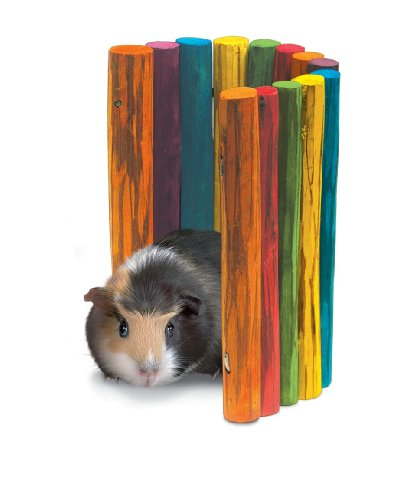 Super Pet Guinea Pig Tropical Fiddle Sticks Hideout, Medium