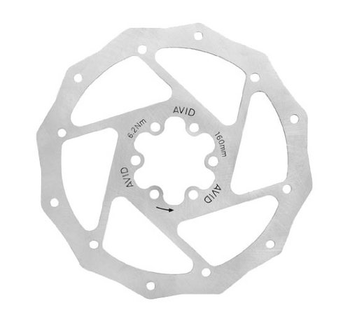 Buy Low Price Avid Roundagon Bicycle Disc Brake Rotor (B001UA1NTQ)