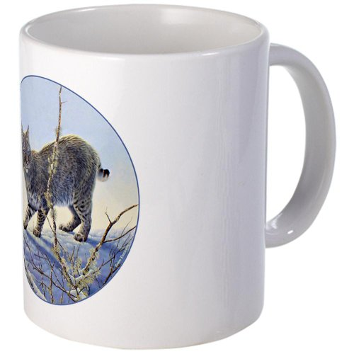 CafePress - Bobcat Mug - Unique Coffee Mug, 11oz Coffee Cup
