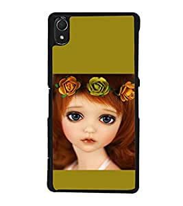 printtech Girl Band Cute Back Case Cover for Sony Xperia Z2 , Sony Xperia Z2 L50W D6502 D6503