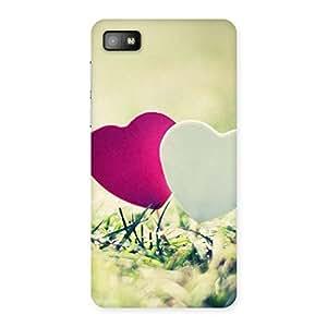 Heart Couple Back Case Cover for Blackberry Z10