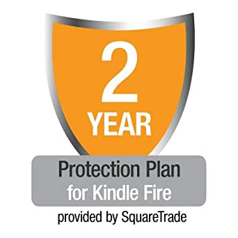 2-Year SquareTrade Warranty plus Accident Protection for Kindle Fire (First Generation), US customers only