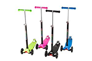 Cheetah Adjustable Height 3 Wheel Wide Deck with Double Rear Wheels Kids Kick Scooter available at Amazon for Rs.15081