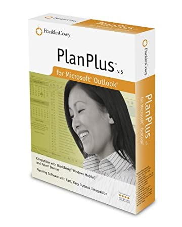 Franklincovey Planplus Version 5 For Outlook [Old Version]
