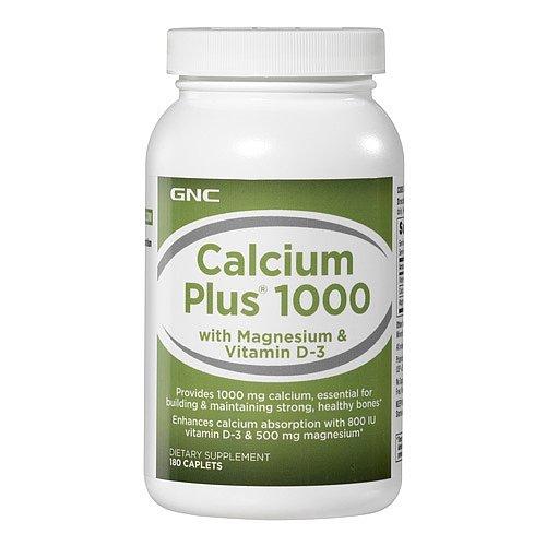 Gnc Calcium Plus 1000 180 Caplets