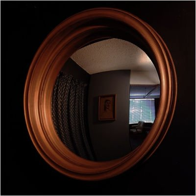 Cruyf Decorative Convex Mirror Color: Flat Black