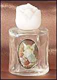 Guardian Angel Glass Holy Water Bottle