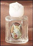 Guardian Angel Glass Holy Water Bottle