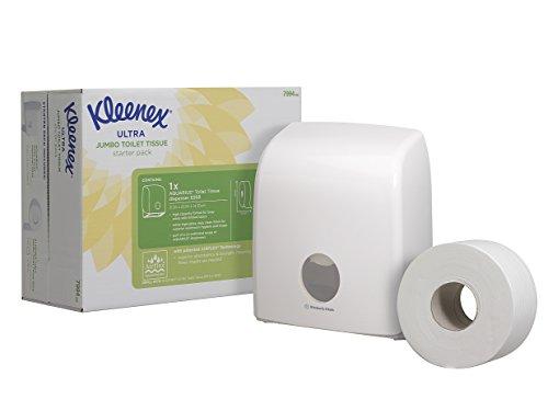 kleenex-aquarius-starter-pack-codice-7994-1-dispenser-e-un-rotolo-di-carta-jumbo-colore-bianco