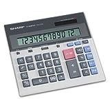 QS-2130 Compact Desktop Calculator, 12-Digit LCD by SHARP (Catalog Category: Office Equipment & Equipment Supplies / Calculators)