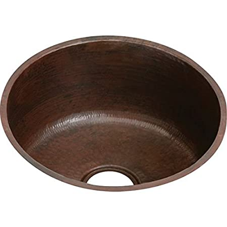 Elkay ECU16FBACH The Mystic Copper 18-10/27-Inch x 18-3/8-Inch Single Basin Undermount Kitchen Sink