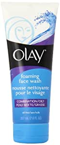 Olay Combination/Oily Foaming Face Wash, 7-Ounce (Pack of 2)