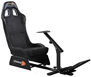 Playseat Evolution Racing Seat - Black Alcantara - Standard Edition