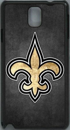 Review:  NFL New Orleans Saints Logo PC Hard Shell Black Skin Cover Case for Samsung Galaxy Note 3 N9000 by Qinchao Sports #23