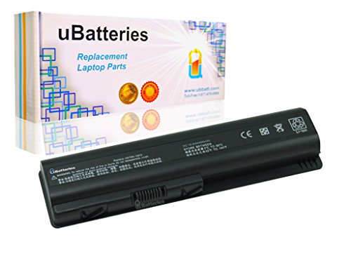 UBatteries Laptop Battery HP Pavilion dv4-1281us dv4-1282cm dv4-1283cl dv4-1287cl dv4-1292cm dv4-1302tx dv4-1303tx dv4-1304tu dv4-1304tx dv4-1305tu - 4400mAh, 6 Cell