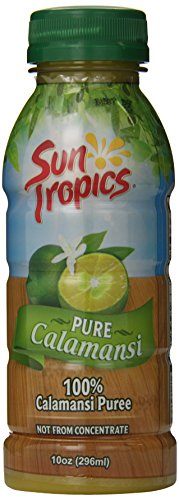 Sun Tropics 100% Pure Calamansi Puree, 10 Ounce (Pack of 3) (100 Pure Lemon Juice compare prices)