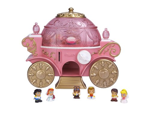 Squinkies Disney Princess Celebration Coach