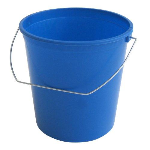 2.5 Quart, Plastic Bucket, Blue, 12-Pack- Argee RG580/12 (10 Qt Steel Bucket compare prices)