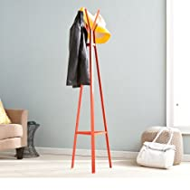Contemporary concept Metal Hall Tree Coat Rack in Multiple colors