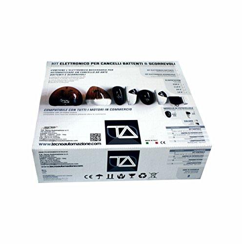 KEB: Kit Elettronico per cancelli ad ante Battenti compatibile con tutti i motori in commercio alimentati a 230V by TA Tecno Automazione