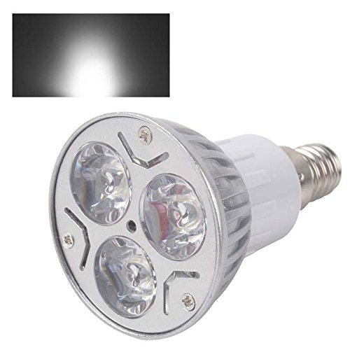 E14 9W 3X3W Led Dimmable Spot Light Downlight Lamp Bulb Pure White 220V Fashion Partical