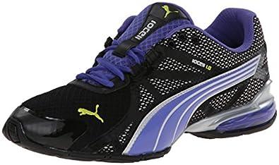 PUMA Women's Voltaic 5 Cross-Training Shoe,Black/Blue Iris/Sulphur Spring,5.5 B US