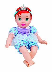 Amazon.com: My First Disney Princess Baby Doll - Ariel (Style will