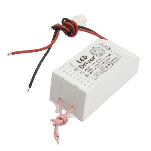 Ac 110-220V Power Supply Adapter Converter For (7-12)X1W Led Strip Light