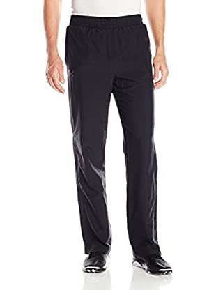 Under Armour Pantalón Deporte Ua Powerhouse Woven Pant (Negro)