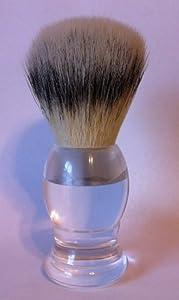 Beauty Strokes - H.I.S Face Shaving Brush (Clear Handle)
