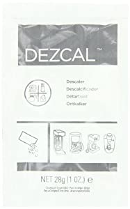 Urnex Dezcal Activated Descaler, 1-Ounce Packets, 100-Count by Urnex