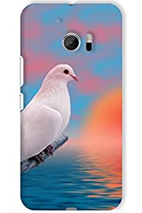 IndiaRangDe Case For HTC One M10 (Printed Back Cover)