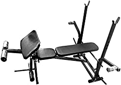 7 in 1 Weight Lifting Bench Press Form Home Gym Exercises ( Flat + Incline + Decline + Peck Fly + Leg Curls + Leg extentions + Preacher curl Bench)