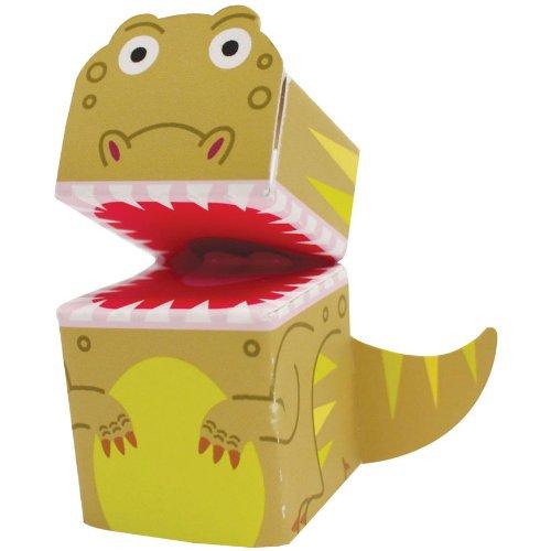 Dinosaur Finger Puppets 4 Per Pack - 1