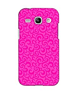 Pick Pattern Back Cover for Samsung Galaxy Core Plus (MATTE)