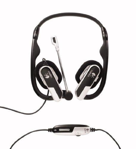 Logitech H555 Notebook-Kopfhörer mit Mikrofon schwarz