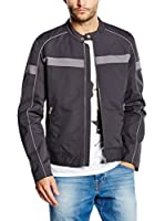 Guess Chaqueta Mc Queen Biker Jacket (Gris)