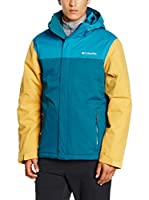 Columbia Chaqueta Everett Mountain (Turquesa / Amarillo)