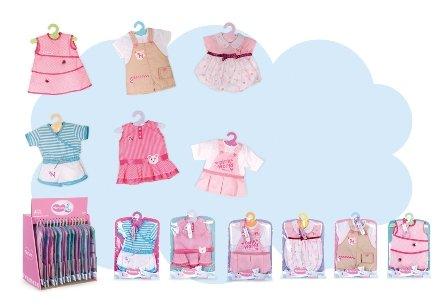 Bambolotto Nenuco accessori Famosa-Vestiti (sogg a scelta)