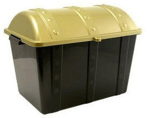 Sturdy Plastic Treasure Chest Box 19